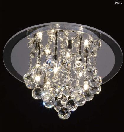 tipo 2332 Lampara Crystal plafon Lampara tipo XwnOk0N8P